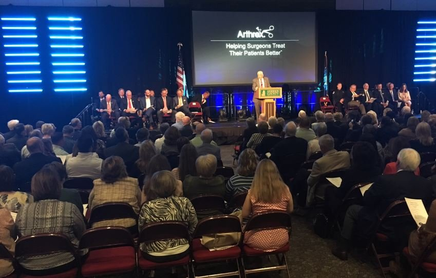 Arthrex creating 1000 jobs in Anderson