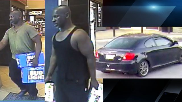 Surveillance photos of the suspect (Source: GPD)