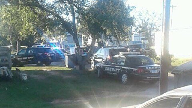 Scene of shooting in Williamston. (Credit: Tabatha S.)