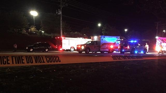 Scene on Woodruff Rd. (10/17/17 FOX Carolina)