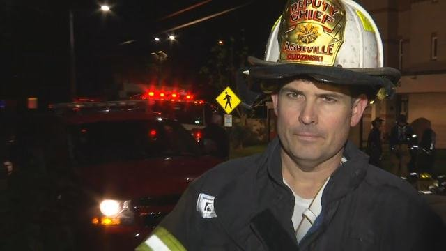 Fire chief provides latest on high rise apartment fire in Asheville
