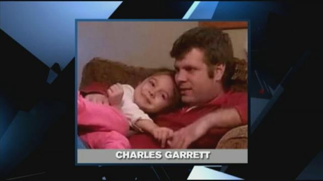 Charles Garrett with daughter. (Source: Family)