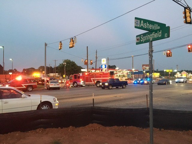 Scene of the crash (File)