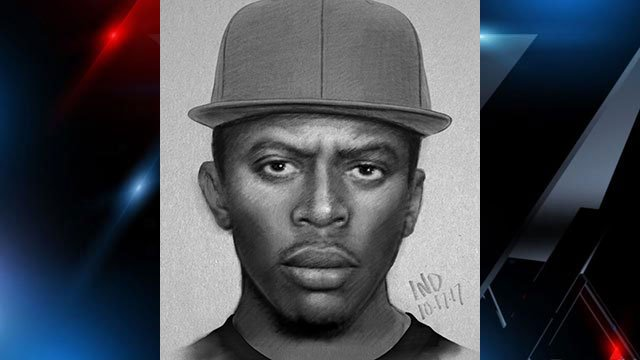 Composite sketch of armed robbery suspect (Source: Spartanburg PD)