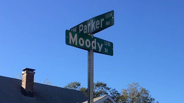 Moody Street (Oct. 19, 2017/FOX Carolina)
