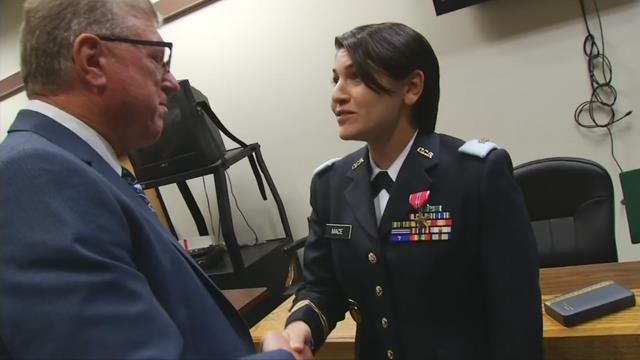 Veteran gets Bronze Star nine years after mission