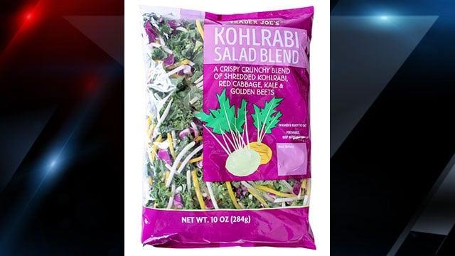 Recalled salad bags (Source: Trader Joe's)