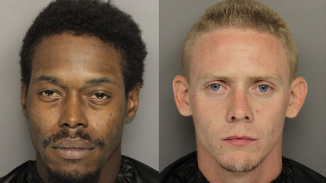 Mayfield (left) and Standard have both been charged (Source: GCSO)