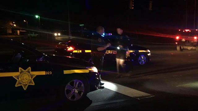 Injuries reported in Greenville crash. (FOX Carolina/ 10/20/17)