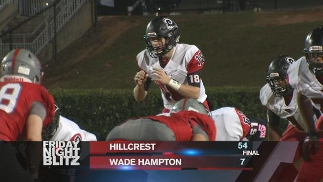 Hillcrest vs. Wade Hampton