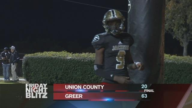 Union County vs. Greer