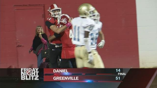 Daniel vs. Greenville