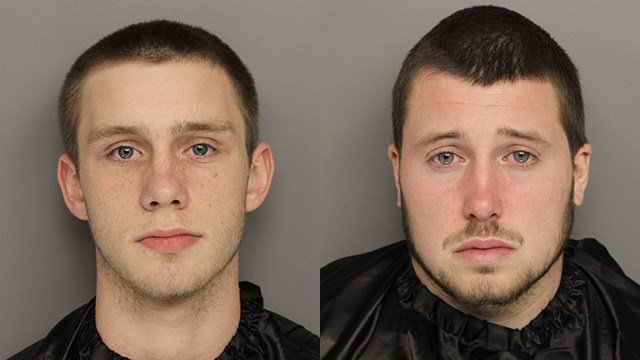 Michael Mcleod Shipman (L) and Chase Evan Brill (R). (Source: GCSO)