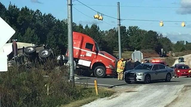 Truck vs. train crash in Seneca (Source: iWitness)