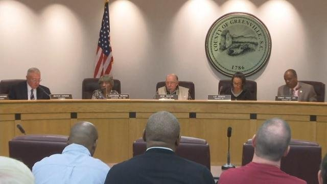 County council holds special meeting on Will Lewis (Oct. 24, 2017/FOX Carolina)