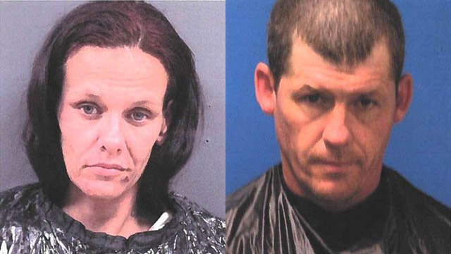 Gina Marie Sessoms (left) and Jimmy Carlton Gilfillan Jr (right) (Source: CCSO)