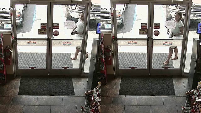 Person of interest in credit card fraud cases (Source: ACSO)