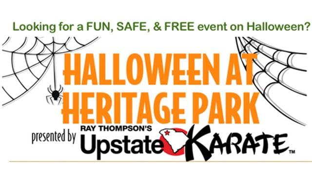 Halloween at Heritage Park (Source: Simpsonville Chamber website)