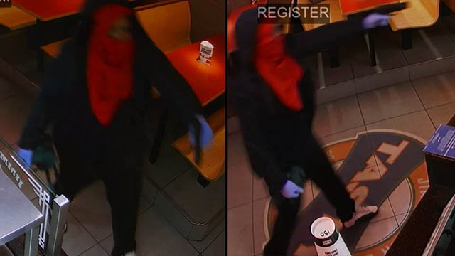 Armed robbery suspect (Source: Asheville PD)