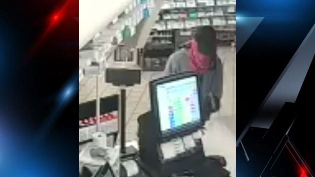 Deputies say the suspect robbed a gas station on Friday. (Source: Buncombe Co. Sheriff's Office).