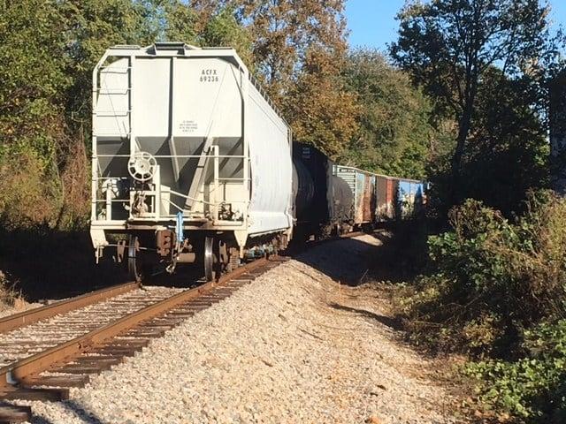 Train collision (Oct. 27, 2017/FOX Carolina)