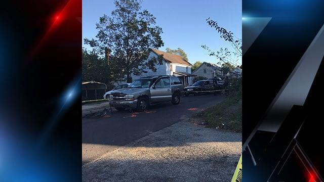 Cyclist involved accident in Anderson. (FOX Carolina).