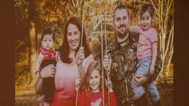 Trooper Rebman, his wife and three daughters. (10/29/17 FOX Carolina)
