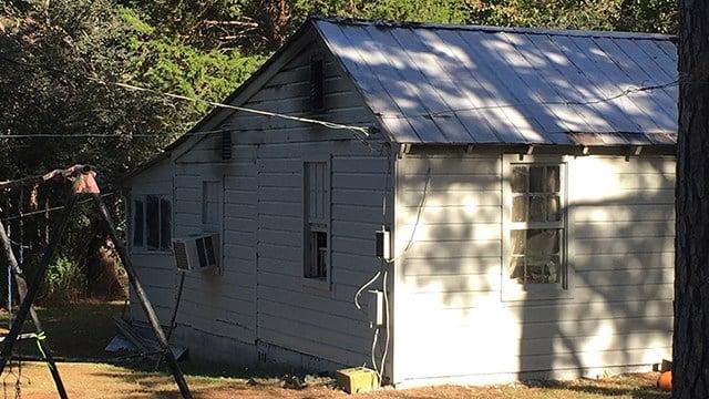 House fire in Cowpens. (10/29/17 FOX Carolina)