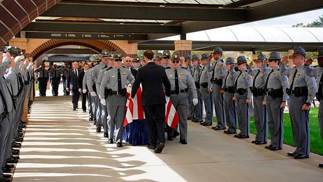 SCHP Trooper Daniel Rebman laid to rest in Greenville (Source: SCDPS)