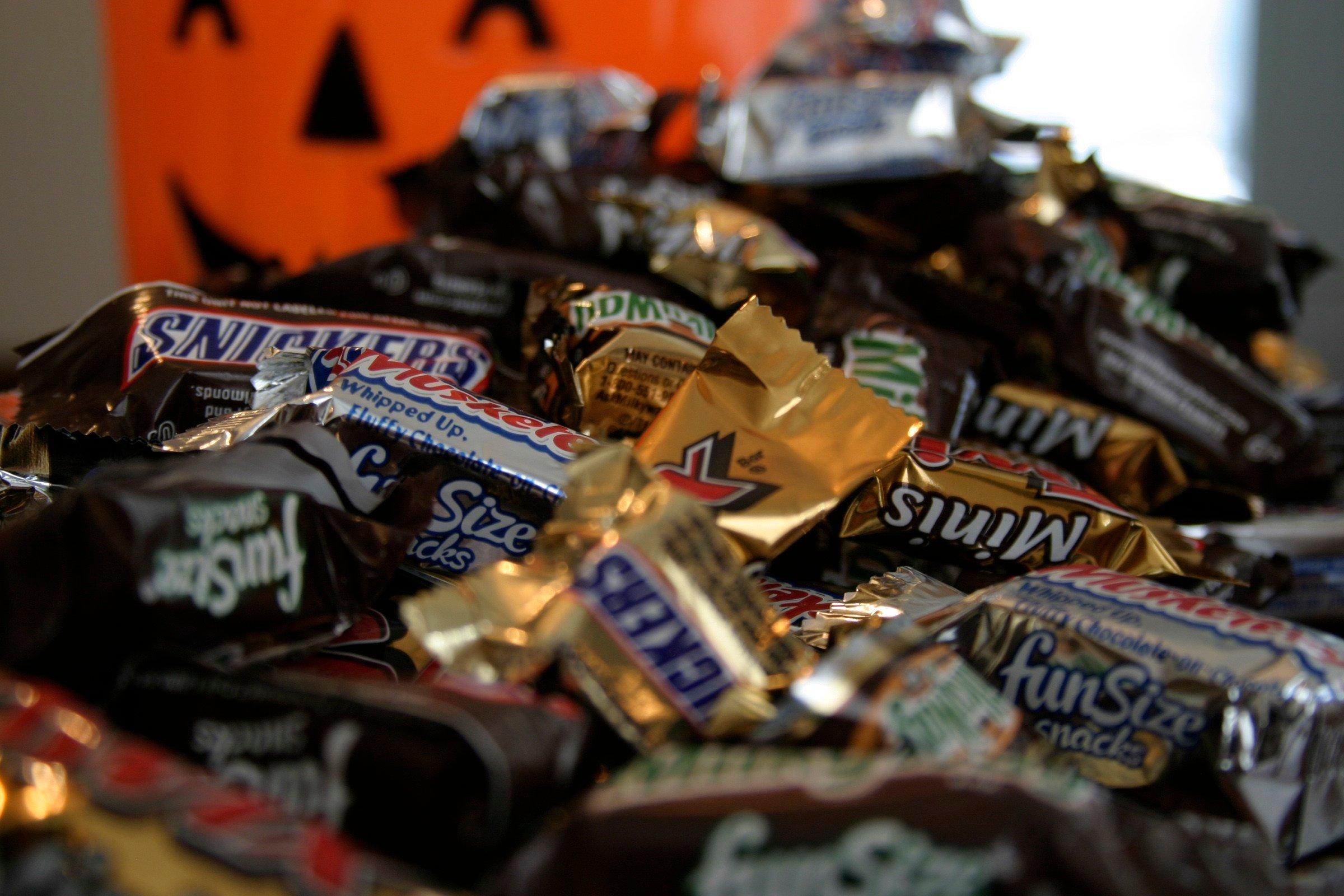 Halloween candy (AP)