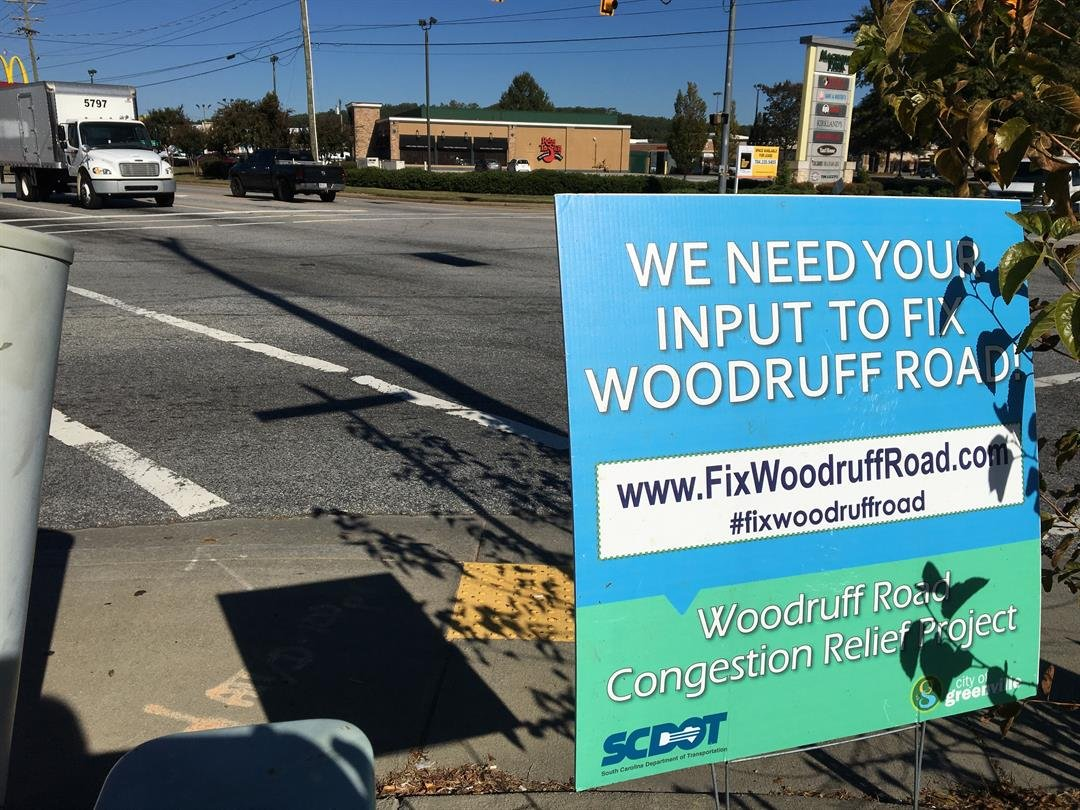 """SCDOT said more than 4,000 people weighed in on the """"Fix Woodruff Road"""" survey (FOX Carolina: 10/31/2017)."""