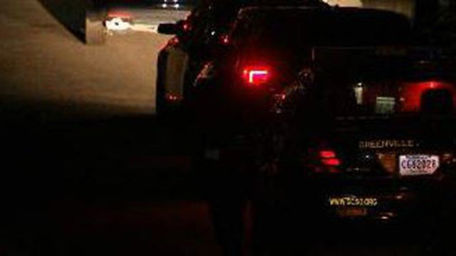 Scene of accidental shooting on W Main Street. (10/31/17 FOX Carolina)