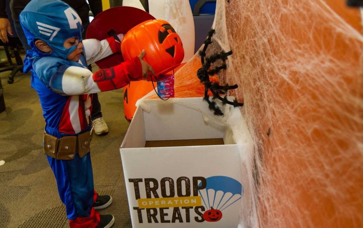 Operation Troop Treats (Courtesy: Kool Smiles)