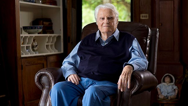 Rev. Billy Graham (Source: Billy Graham Evangelistic Association)