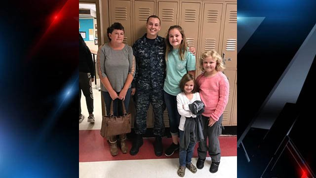 Sailor William Taylor and family (Source: Family)
