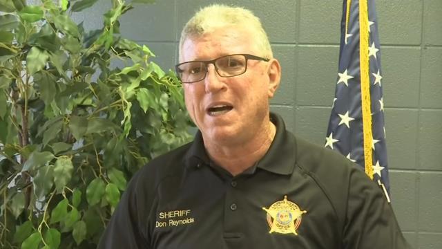 Sheriff Don Reynolds (FOX Carolina/ 11/2/17)