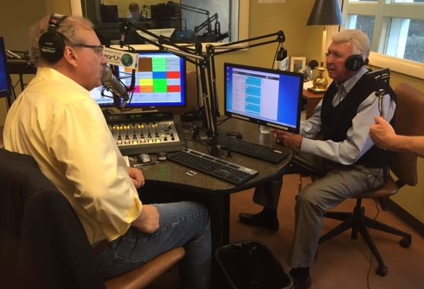 Johnny Mack Brown (right) on Earth FM (FOX Carolina)