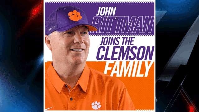 John Rittman (Source: ClemsonTigers.com)