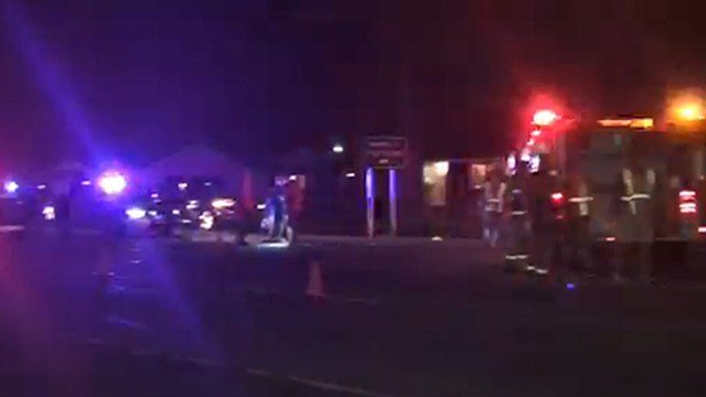 Scene of crash on E. Shockley Ferry Road (Nov. 3, 2017/FOX Carolina)