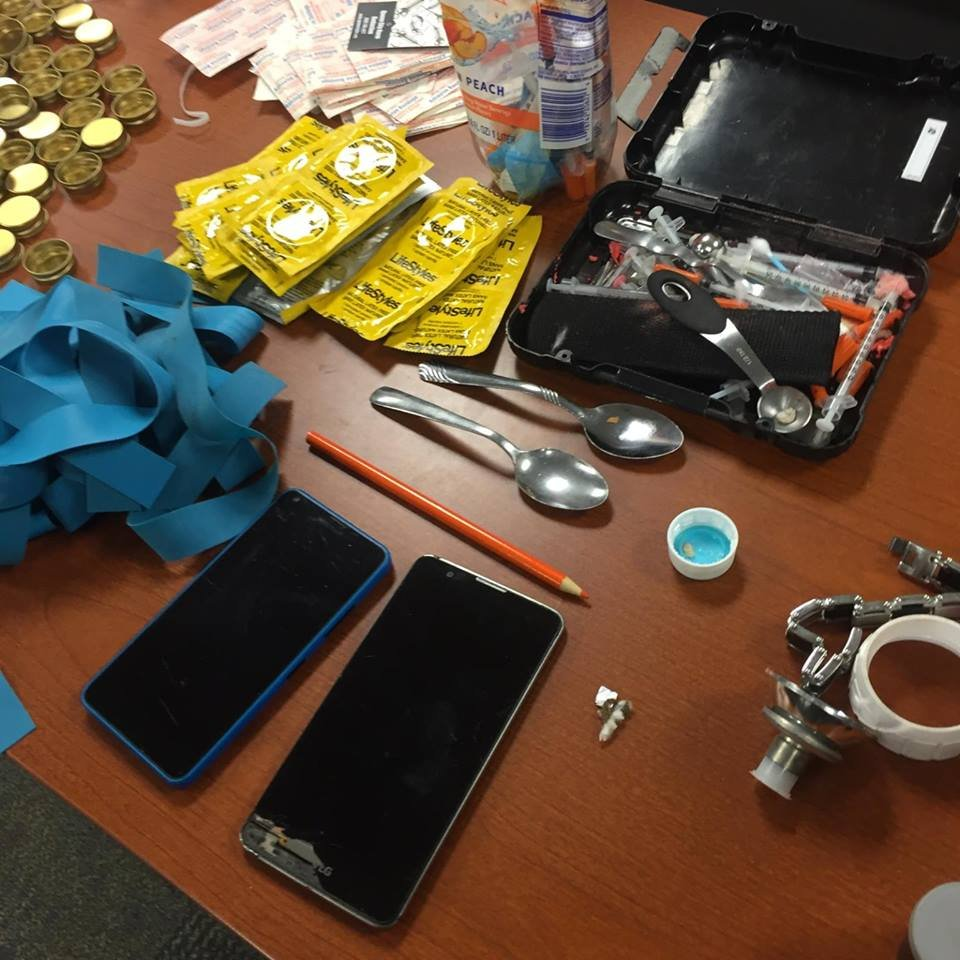 Items seized in the bust (Source: McDowell Co. Sheriff's Office)