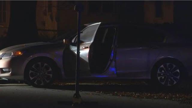 Scene of fatal shooting in Gaffney (FOX Carolina/ 11/9/17)