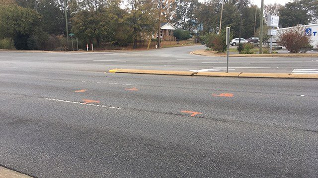 Pete Hollis Boulevard. (11/12/17 FOX Carolina)