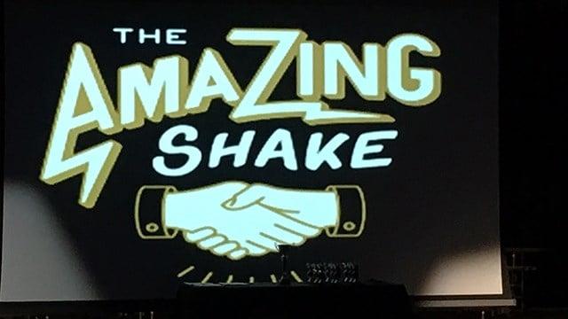 The Amazing Shake winner reveal ceremony. (11/13/17 FOX Carolina)