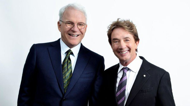 Steve Martin (left) and Martin Short (Source: Peace Center)