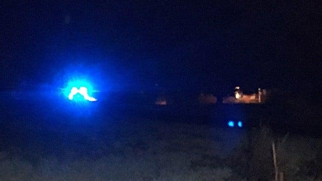 Scene of shooting on Dan River Road. (11/14/17 FOX Carolina)