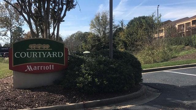 Courtyard Marriott (Nov. 15, 2017/FOX Carolina)