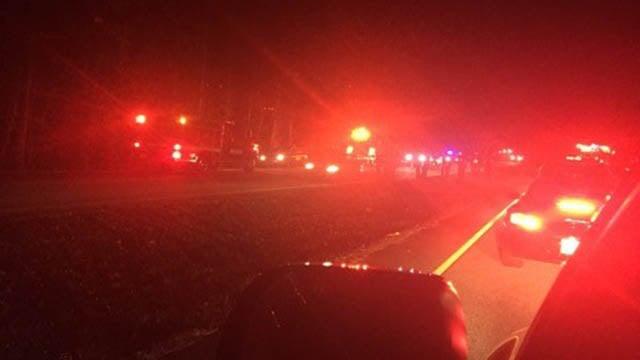 Scene of crash in Greenville Co. (Source: iWitness)