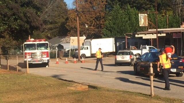 Scene at Cherrydale Elementary (Nov. 16, 2017/FOX Carolina)