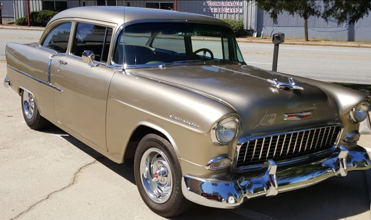 Stolen 1955 Chevy Bel Air (Source: OCSO)