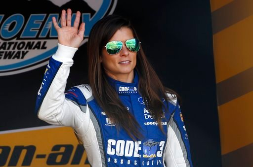 Danica Patrick (Source: Associated Press)